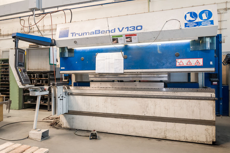 CNC BENDING WITH PRESS BRAKES: TRUMABEND V50, V130